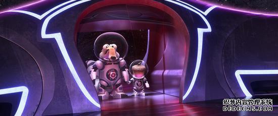 《冰川时代:星际碰撞》小松鼠与松果上太空