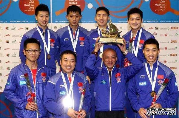 国乒两大劲敌缺战世界杯 中国队夺冠几乎没难度