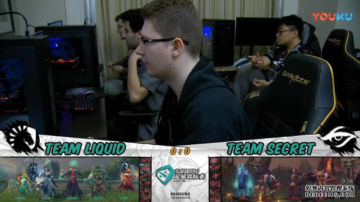 超级Major淘汰赛胜者组Liquid vs Secret比赛视频
