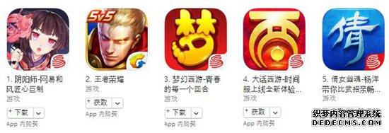 11月8日苹果游戏榜单:三款斗地主新品进入免费榜前十
