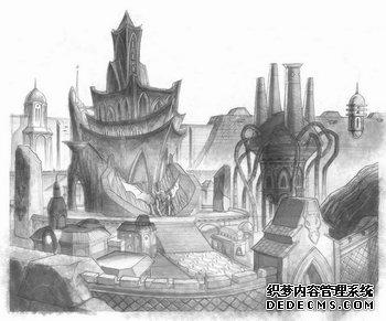 龙与地下城Onli最新赤月传说私服ne:巨人背上的城市(图)