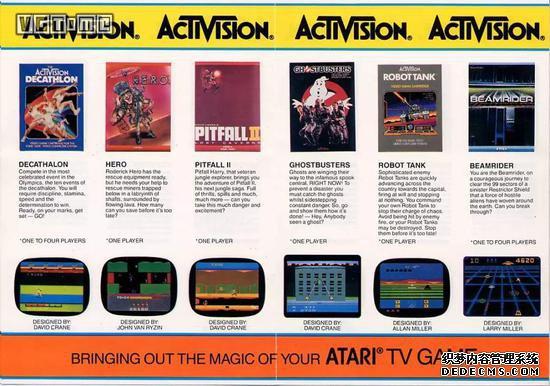 动视当时开发的游戏,其质量甚至比雅达利还高