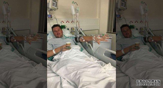 英国男子爆米花卡在赤月传说变态sf牙缝中未及时就医导致心脏感染